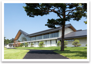 The new clubhouse of Sasai course.