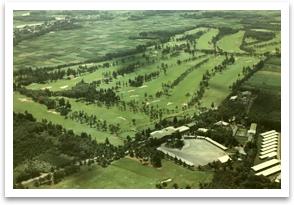 The bird eye view of Sasai course.