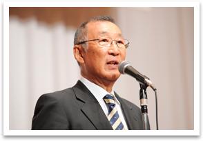 The former president, Hideo Ozeki.