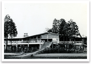 The clubhouse of Sasai course.