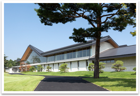 笹井コースの新クラブハウス
